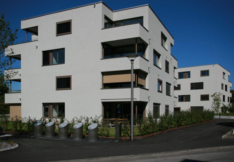 Neuhushof / Sicht von Gasshofstrasse